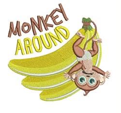 Monkey Around embroidery design