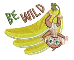 Be Wild embroidery design
