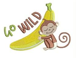 Go Wild embroidery design