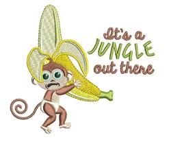Its A Jungle embroidery design