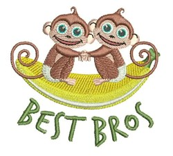 Best Bros embroidery design