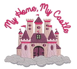 My Castle embroidery design
