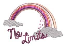 No Limits embroidery design