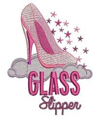 Glass Slipper embroidery design