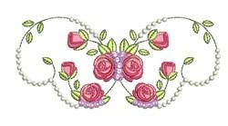 Rose Decor embroidery design