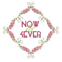 Now & Ever embroidery design
