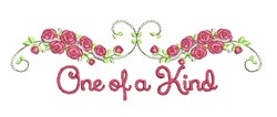 One Of Kind embroidery design