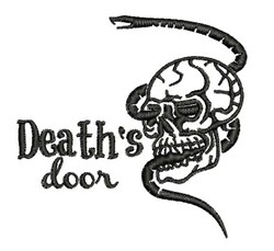 Deaths Door embroidery design