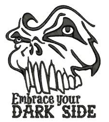 Dark Side embroidery design