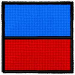 Echo Flag embroidery design