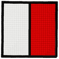 Hotel Flag embroidery design