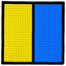 Kilo Flag embroidery design