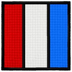 Tango Flag embroidery design