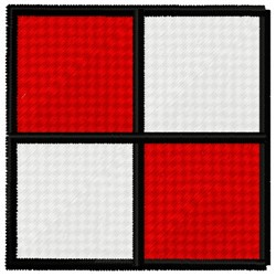 Uniform Flag embroidery design