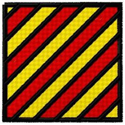 Yankee Flag embroidery design