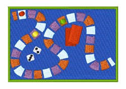 Board Game embroidery design