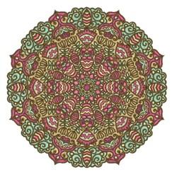 Elegant Mandala embroidery design