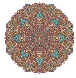 Mandala Decor embroidery design