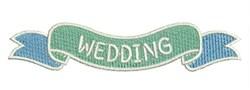 Wedding Banner embroidery design