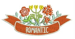 Romantic Flowers embroidery design