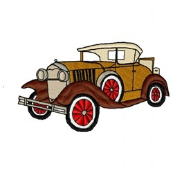 1930 Car embroidery design