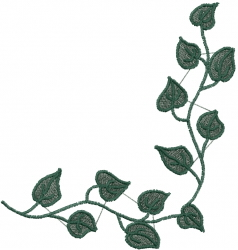 English Ivy embroidery design