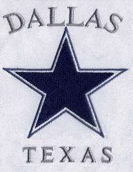 Texas Dallas Cowboys embroidery design