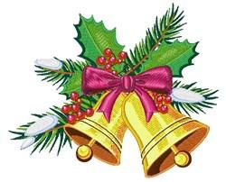 Christmas Jingle Bell embroidery design