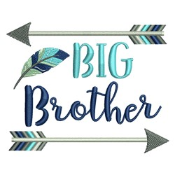 Big Brother Arrow embroidery design