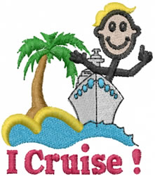Cruiser Joe embroidery design
