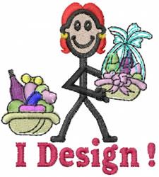 Designer Jane embroidery design