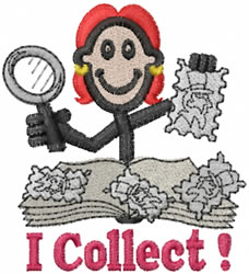 Collector Jane embroidery design