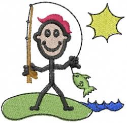 Fisherman Joe embroidery design