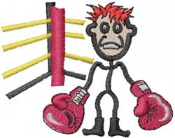 Boxer Joe embroidery design