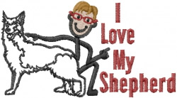Shepherd Joe embroidery design