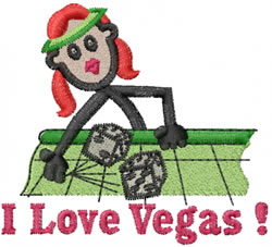 Vegas Jane embroidery design