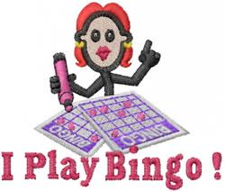Bingo Jane embroidery design