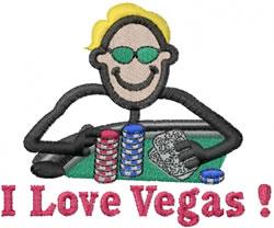 Poker Joe embroidery design