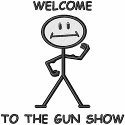 Gun Show embroidery design