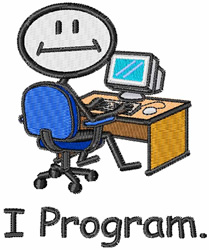 I Program embroidery design