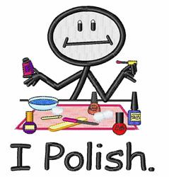I Polish embroidery design