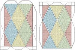 Flexahedron Parquet embroidery design