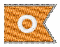 Pennant Font 0 embroidery design