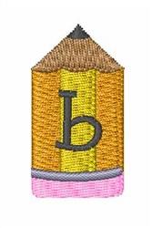 Pencil Font b embroidery design