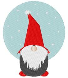 Scandinavian Gnome embroidery design