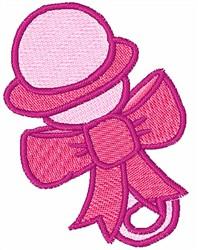 Baby Rattle Embroidery Design | AnnTheGran