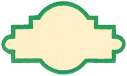 Border Applique embroidery design