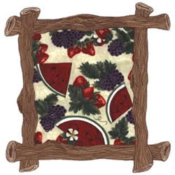 Branch Applique Border embroidery design