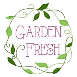 Garden Fresh embroidery design