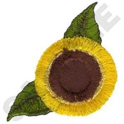 Fringe Sunflower embroidery design
